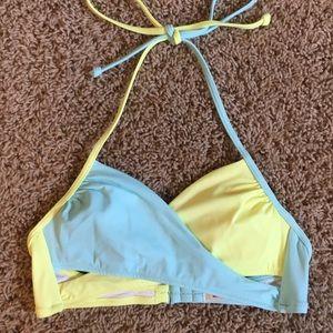 PINK Victoria's Secret neon bikini top